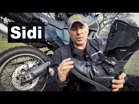 Sidi Adventure 2 - The Best Motorcycle Touring Boots!