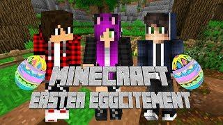 Minecraft Easter Eggcitement - Szukanie jajek, polowanie na zajączki i malowanie pisanek
