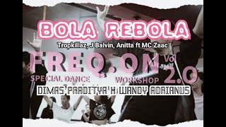 Baixar Bola Rebola - Tropkillaz, J Balvin, Anitta ft MC Zaac | Dimas Praditya & Wandy Adrianus