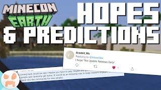 Minecon HOPES & PREDICTIONS | Minecon Earth 2018