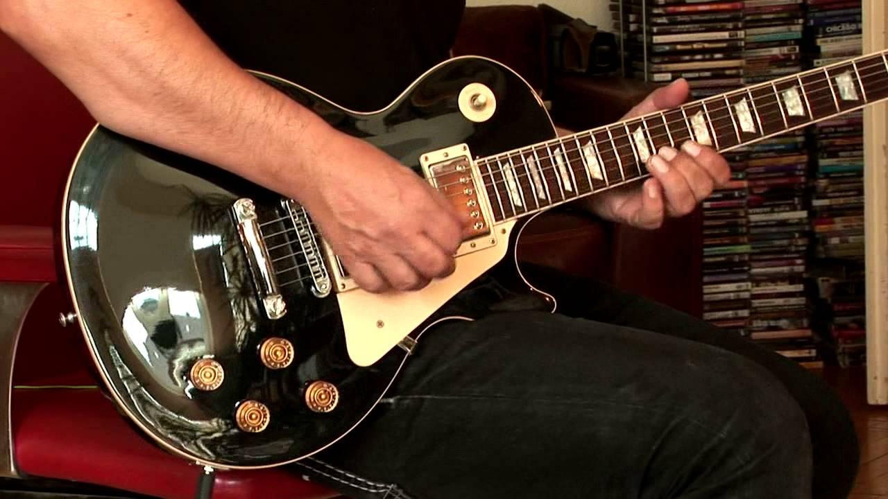 2001 Gibson Les Paul Std  black