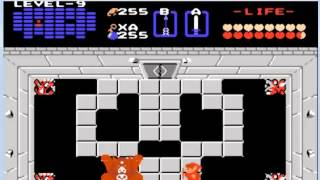 The Legend of Zelda - Last Boss + Ending - Classic Nes