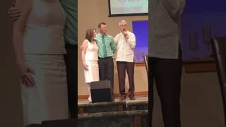 Tracy Lewis Hammond and Nancy Kay Johnson and Pastor Jim Bollin