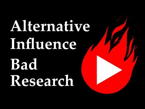Alternative Influence Network - Bad Research