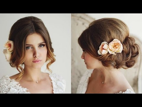 coiffure mariage cheveux longs tuto coiffure mariage facile coiffure mariage chignon 2016 youtube. Black Bedroom Furniture Sets. Home Design Ideas