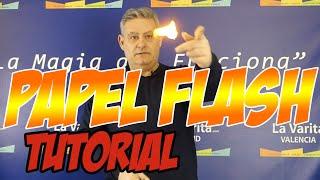 Video: Flash Paper (4 sheets) by Top Secret