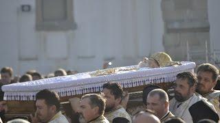 Eftimie Luca, arhiepiscopul Romanului si Bacaului, dus pe ultimul drum