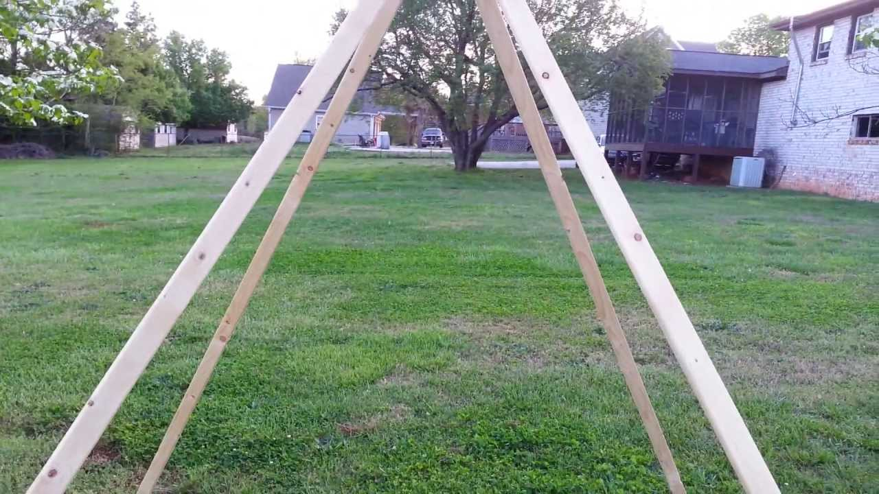 Great DIY Garden Tips How To Building A Bean Teepee 4.16.13 YouTube
