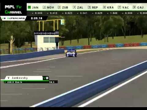 rFactor - MPL V8 Supercars 2011 - SKYCITY Triple Crown, Darwin (Qualification)