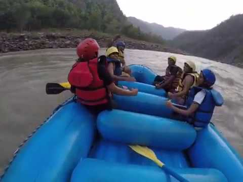 Rishikesh Adventure - White Water Rafting In Heena Tours