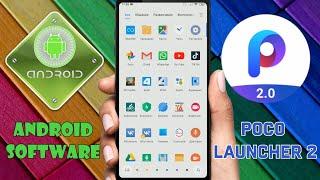 Лучший лаунчер для всех смартфонов Xiaomi и не только - POCO Launcher 2  Топ лаунчер от Xiaomi