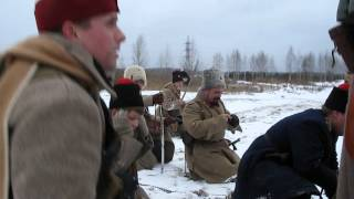 An episode of the Civil War in Russia.