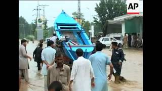 WRAP Death toll rises to 430; floods in Swat Valley ADDS Peshawar