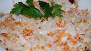 Квашенная капуста - рецепт приготовления (www.samarkand.me) / Sauercraut - video recipe(Рецепт приготовления квашенной капусты от www.samarkand.me., 2012-12-11T04:07:51.000Z)