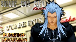 KH Square Enix Cafe Interview Discussion - Character models & Playable Characters