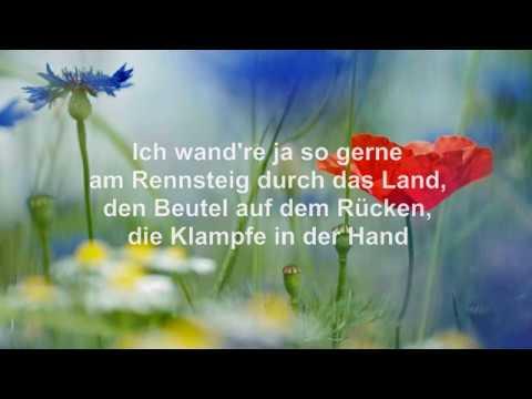 Das Rennsteiglied. Der Montanara Chor. Mit Text, Lyrics (HD)