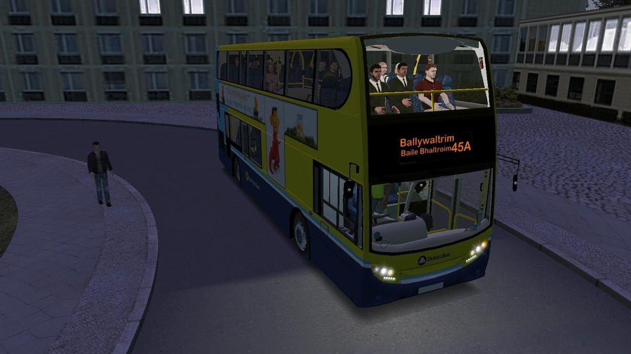 Omsi The Bus Simulator Dublin Bus Route 45a Enviro 400
