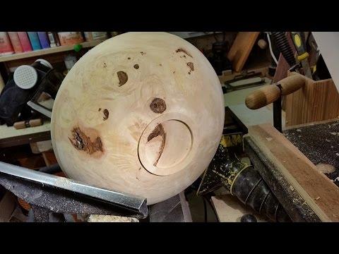 Wood Turning Birds Eye Maple Bowl Part 1 Youtube