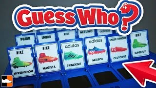 Guess Who? Football Boots Edition! Name the Cleats Challenge