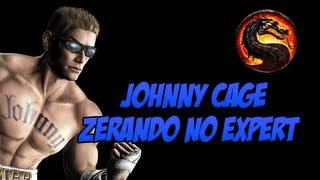 Mortal Kombat - Zerando no Expert Johnny Cage