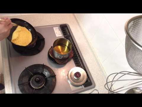 鉄のフライパンでくっつかないオムレツ作り