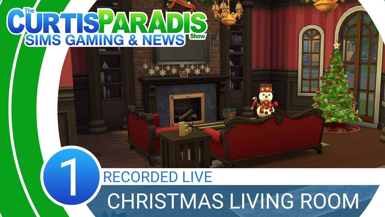 Curtisparadislive sims 4 building starter home part 1 youtube curtisparadislive sims 4 christmas room building