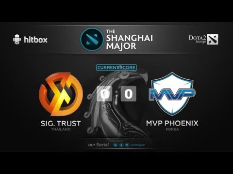 The Shanghai Major 2016 SEA Qualifier ||  Sign. Trust vs MVP. Phoenix || game 1 of  bo2 || by Улыбка