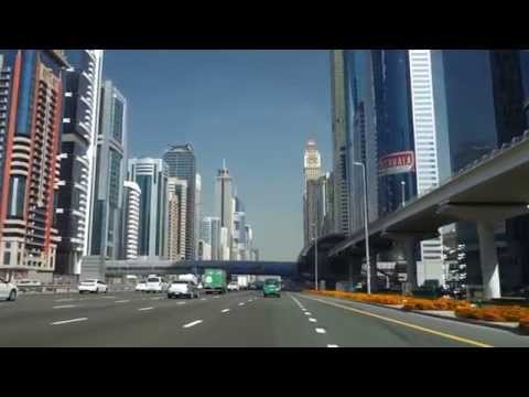Driving in Dubai - United Arab Emirates