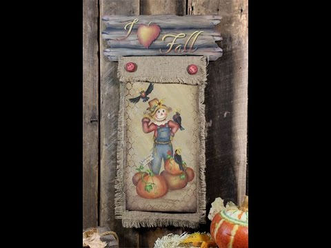 I Love Fall Tole and Decorative Painting by Patricia Rawlinson