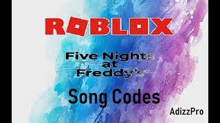 Roblox | FNaF Song Codes!
