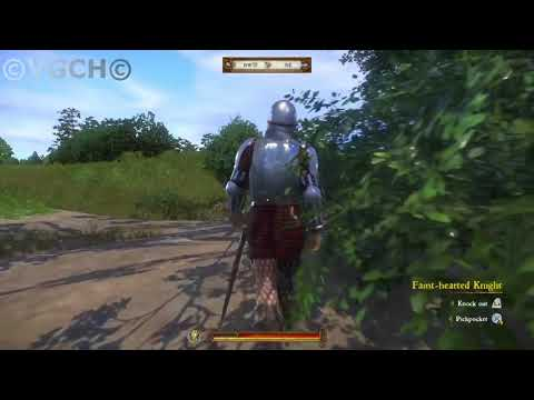 Kingdom Come Deliverance NPC glitch and How to acquire partial plate armor easily