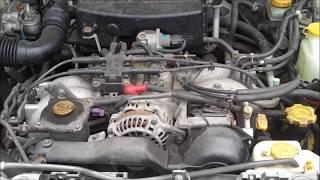 DIY SUBARU FORESTER KNOCK SENSOR REPLACEMENT EASY P0325