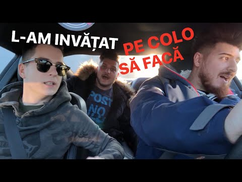 #136 Car vLog - L-AM INVATAT PE COLO CUM SA FACA DRIFT!