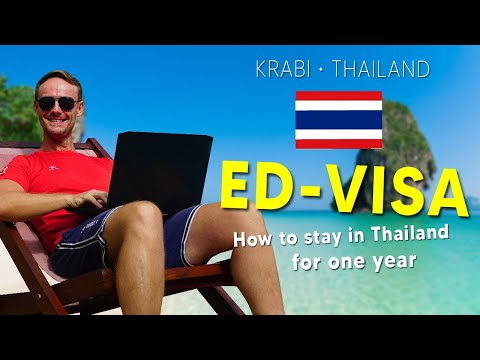 Thai Visa - How to Apply For a One Year Education Visa in 2021