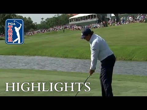 Phil Mickelson's adventures on No. 9 at THE PLAYERS