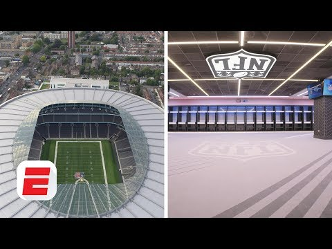 All Access: Tour The NFL London Games' Retractable Pitch For Bears Vs. Raiders   NFL 2019
