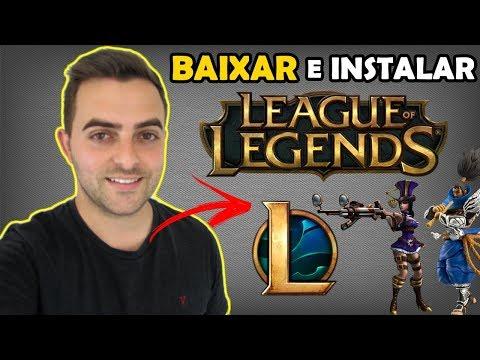 Como Baixar E Instalar League Of Legends