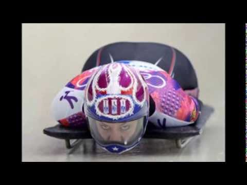 USA's Noelle Pikus Pace wins silver in skeleton at Sochi Winter Olympics