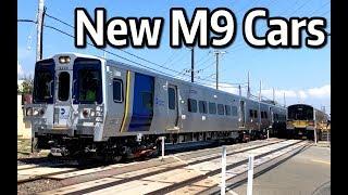 ⁴ᴷ Long Island Railroad M9 Test Train on the Long Beach Branch