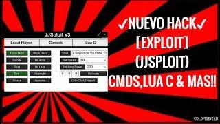 ✔NUEVO HACK✔ - [Exploit] - [JJsploit] - Teleport, Lua C & Mas - ROBLOX