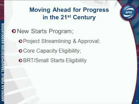 Map 21 Act.Moving Ahead For Progress In The 21st Century Act Map 21 From A Public Transportation Perspective
