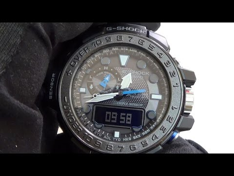 Casio - G-Shock Gulfmaster GWN-1000B-1A Review