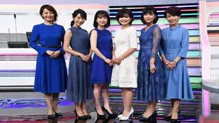 18日、テレビ朝日本社で『ミュージックステーション』の新サブMCお披露...
