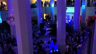 Winter White Party Atlanta 2014 Trapeze Artists