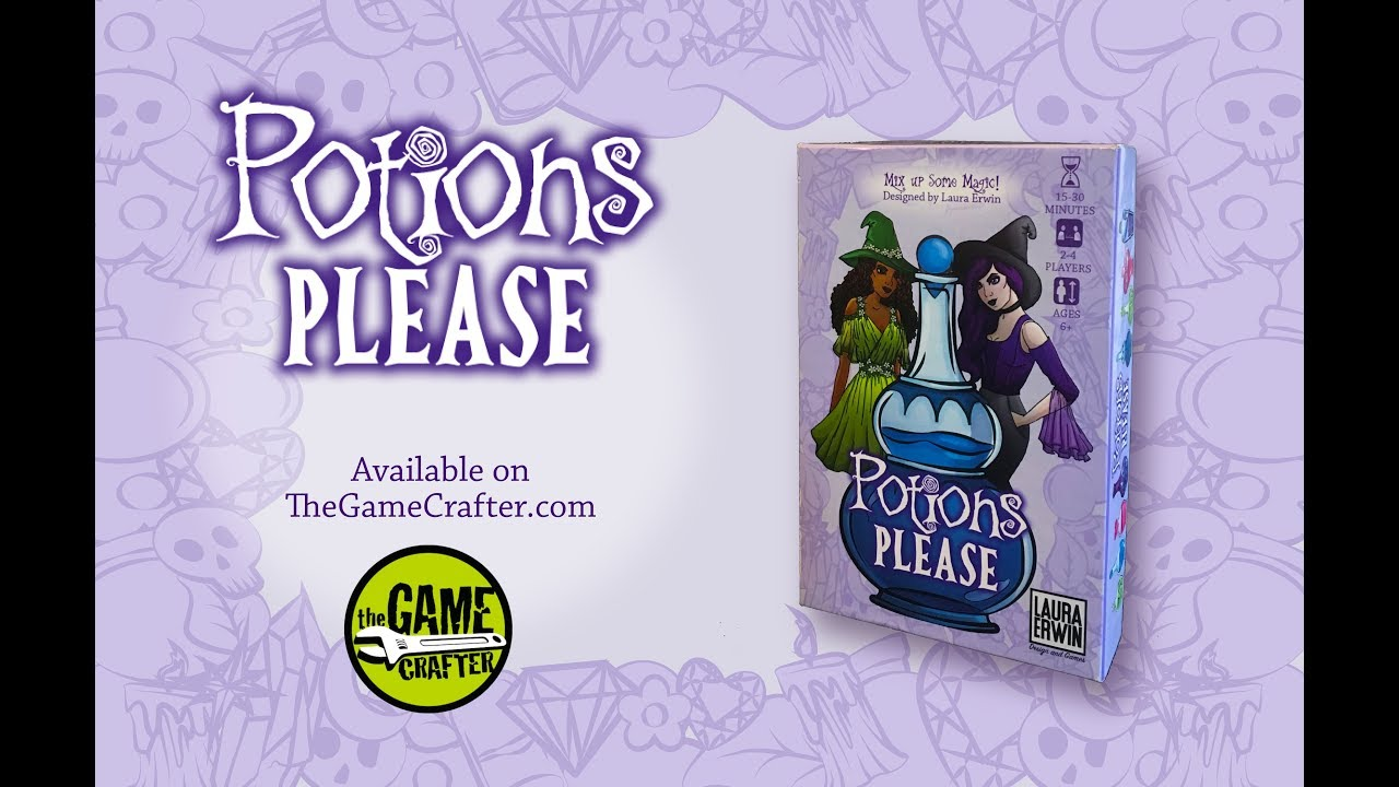 Potions Please Trailer and How to