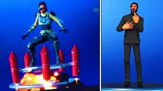 NEW! FORTNITE SEASON 4 BATTLE PASS EMOTES! - All Fortnite Battle Royale Season 4 Emotes Showcase