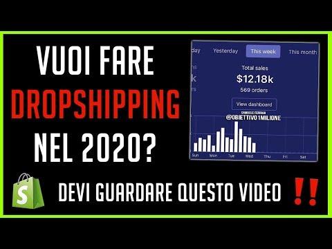 VUOI FARE DROPSHIPPING NEL 2020? GUARDA QUESTO VIDEO ⚠️ [DROPSHIPPING ITALIA]