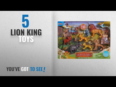 Top 10 Lion King Toys [2018]: Just Play Lion Guard Deluxe Figure