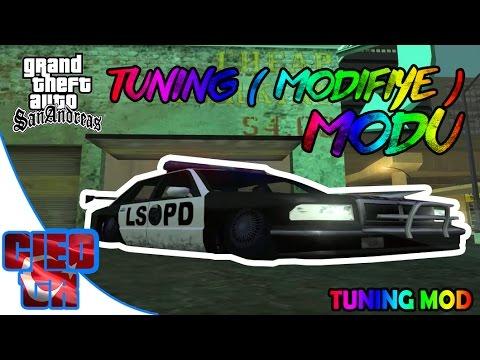 Gta San Andreas #38 - (Tuning) Modifiye Modu | Tuning Mod | Tanıtım | İndir | Download