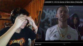 [REACCION] Natos y Waor - DISPUESTOS A MORIR ft. C.R.O & Homer el Mero Mero (Videoclip Oficial).mp3